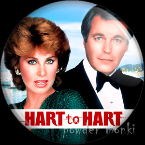 Hart to Hart - Retro Cult TV Badge/Magnet