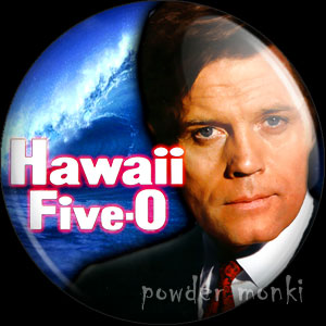 Hawaii Five-0 - Retro Cult TV Badge/Magnet