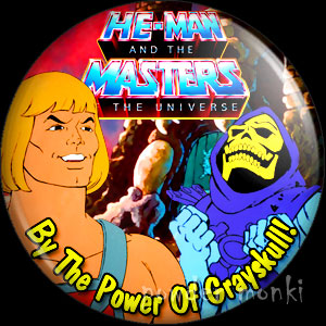 He-Man Masters of the Universe - Retro Cult TV Badge/Magnet