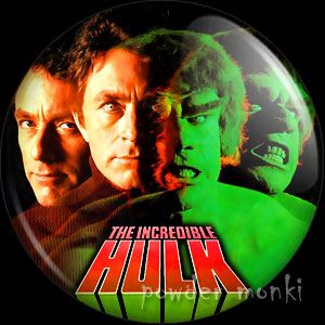 Incredible Hulk - Retro Cult TV Badge/Magnet