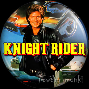Knight Rider - Retro Cult TV Badge/Magnet