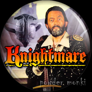 Knightmare - Retro Cult TV Badge/Magnet