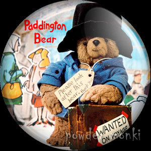 Paddington Bear - Retro Cult TV Badge/Magnet