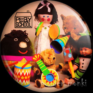 Play School - Retro Cult TV Badge/Magnet [Group]