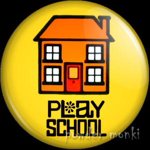 Play School - Retro Cult TV Badge/Magnet [Logo]