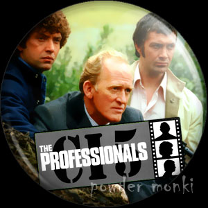 Professionals - Retro Cult TV Badge/Magnet