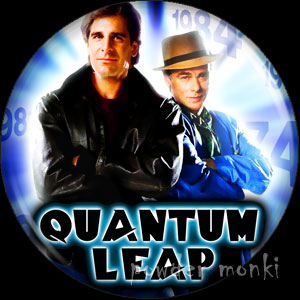Quantum Leap - Retro Cult TV Badge/Magnet