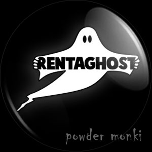 Rentaghost - Retro Cult TV Badge/Magnet