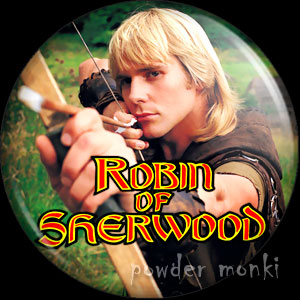 Robin of Sherwood (Connery) - Retro Cult TV Badge/Magnet