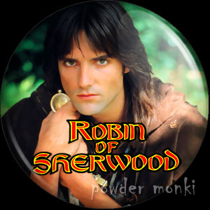 Robin of Sherwood (Pread) - Retro Cult TV Badge/Magnet