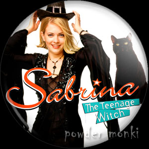 Sabrina, the Teenage Witch - Retro Cult TV Badge/Magnet