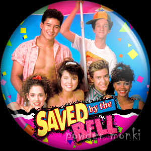 Saved by the Bell - Retro Cult TV Badge/Magnet