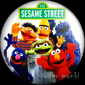 Sesame Street - Retro Cult TV Badge/Magnet