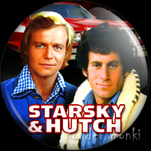 Starsky & Hutch - Retro Cult TV Badge/Magnet