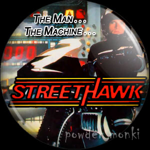 Street Hawk - Retro Cult TV Badge/Magnet