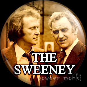 Sweeney - Retro Cult TV Badge/Magnet
