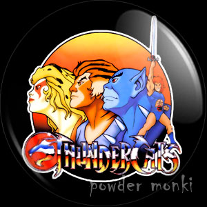 Thundercats - Retro Cult TV Badge/Magnet [Group]