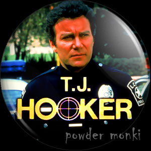 T.J. Hooker - Retro Cult TV Badge/Magnet