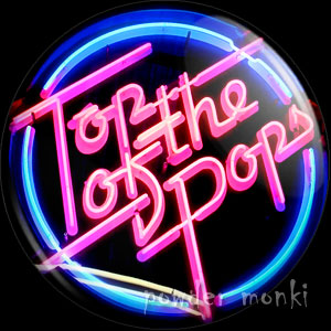 Top Of The Pops - Retro Cult TV Badge/Magnet