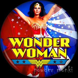 Wonder Woman - Retro Cult TV Badge/Magnet [1]