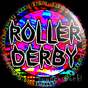 Roller Derby Badge/Magnet 6