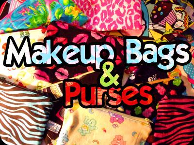Makeup Bags & Purses