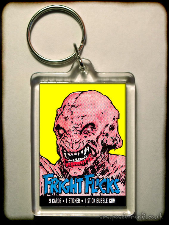 "Fright Flicks ""Pumpkinhead"" - Retro Bubble Gum Keyring"