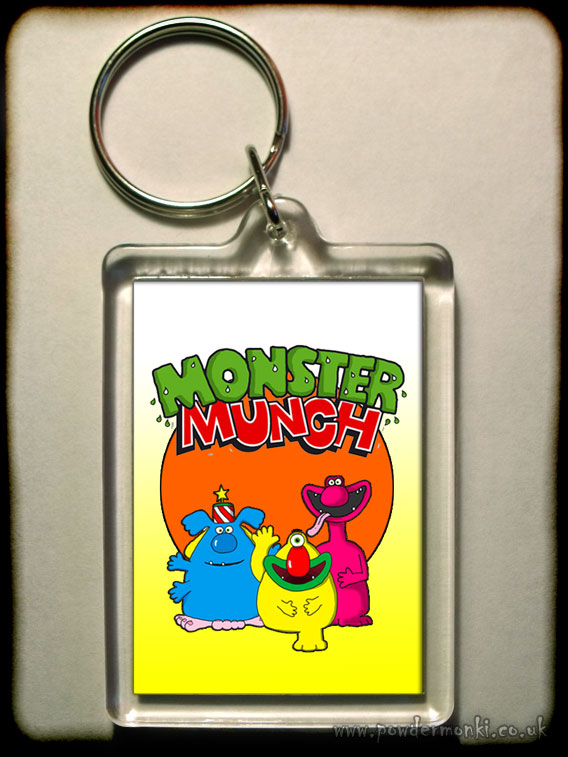 Monster Munch - Retro Sweets Keyring