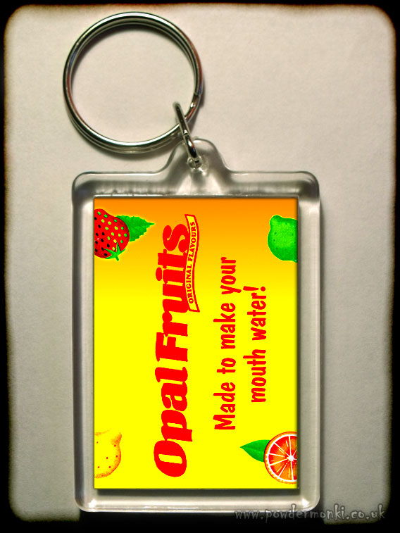 Opal Fruits - Retro Sweets Keyring