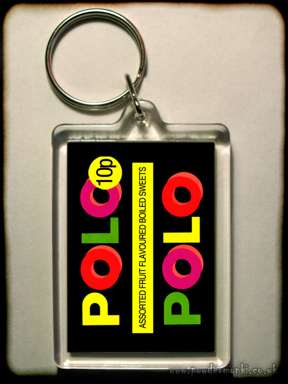 Fruit Polo - Retro Sweets Keyring