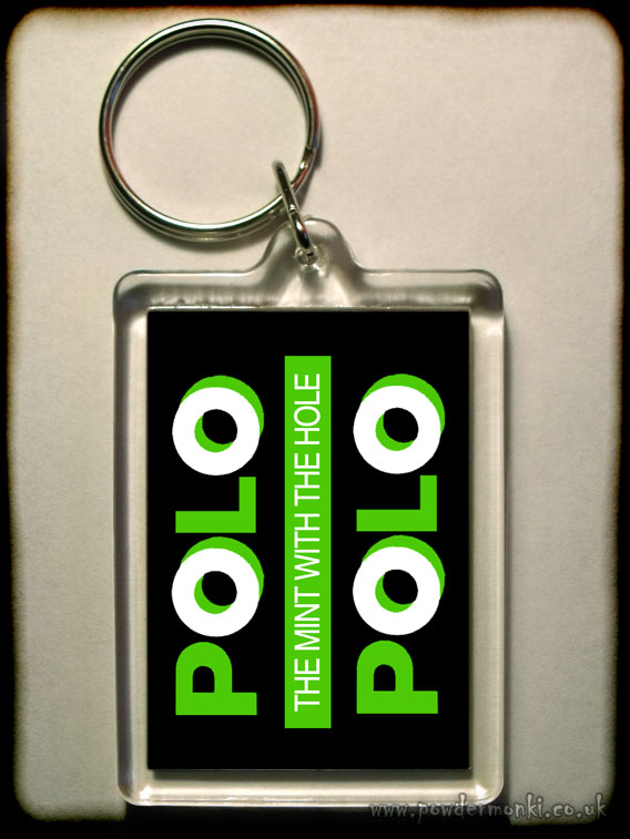 Polo - Retro Sweets Keyring