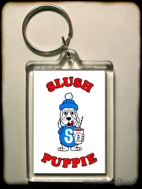Slush Puppie - Retro Sweets Keyring