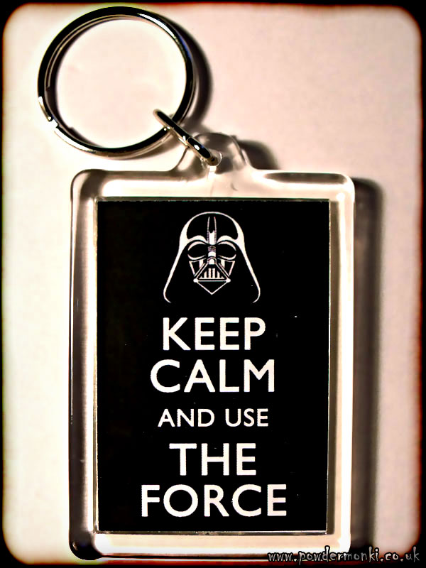 Keep Calm and Use The Force (Star Wars) - Keyring