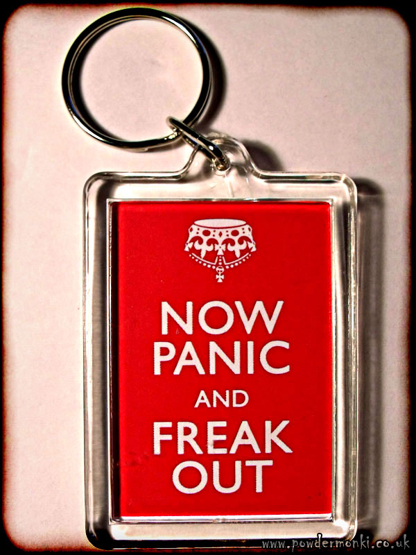Now Panic and Freak Out - Keyring