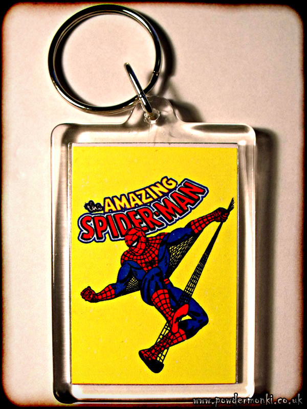 Amazing Spider-Man - Retro Superhero Keyring