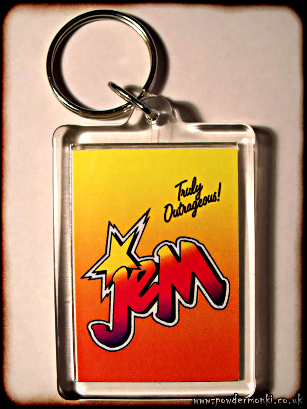Jem And The Holograms - Retro Toy Keyring