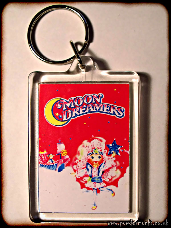 Moon Dreamers - Retro Toy Keyring