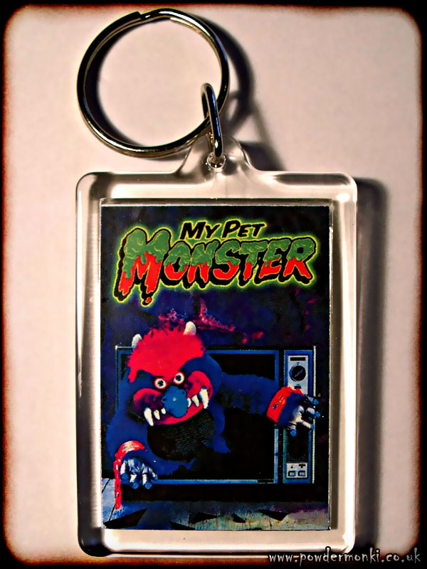 My Pet Monster - Retro Toy Keyring