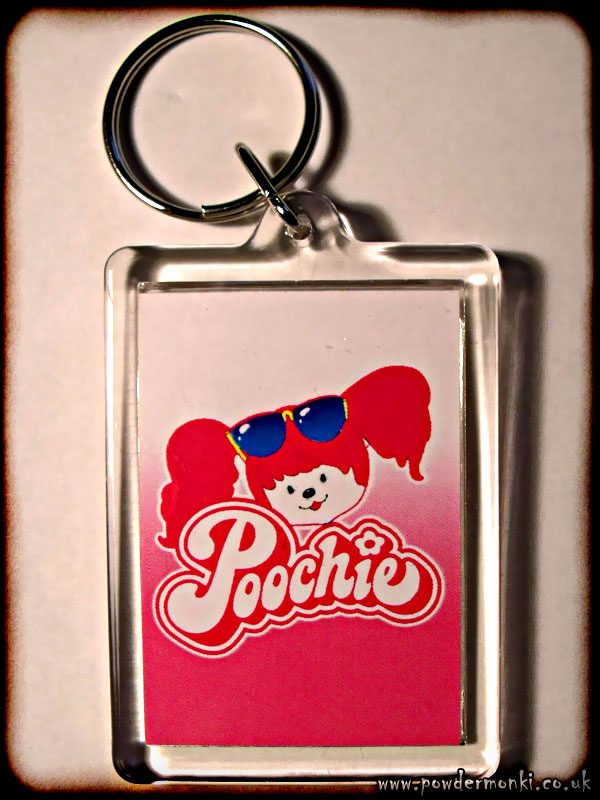 Poochie - Retro Toy Keyring