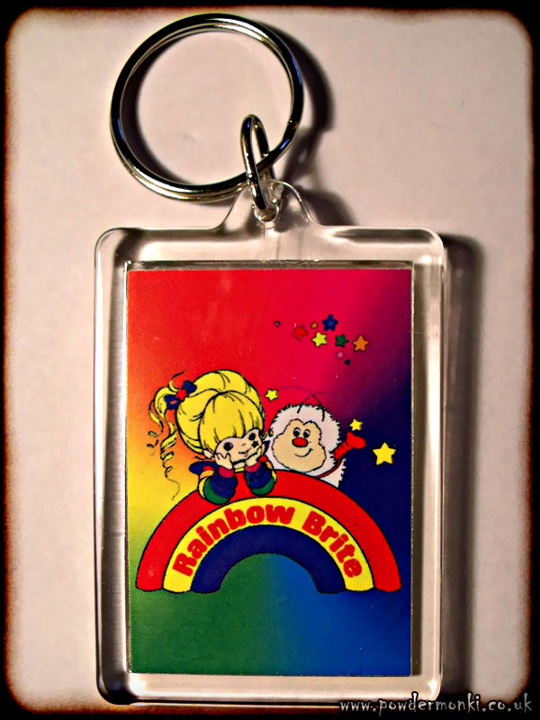 Rainbow Brite - Retro Toy Keyring