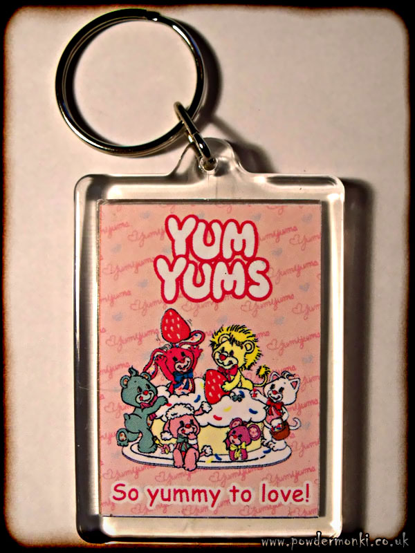 Yum Yums - Retro Toy Keyring