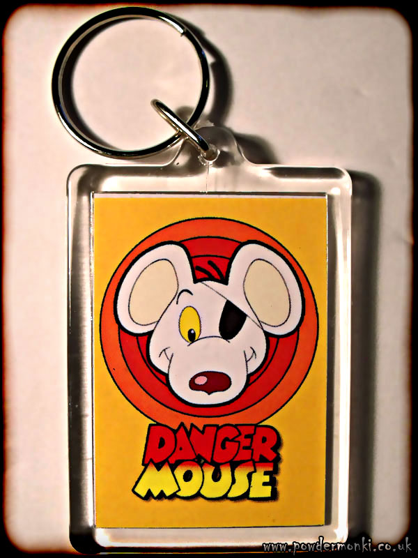 Danger Mouse - Retro TV Keyring