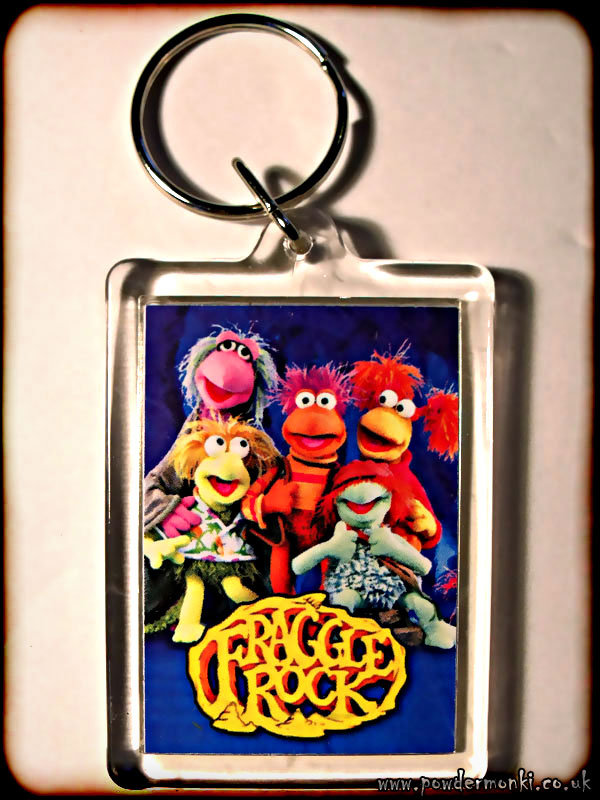 Fraggle Rock - Retro TV Keyring
