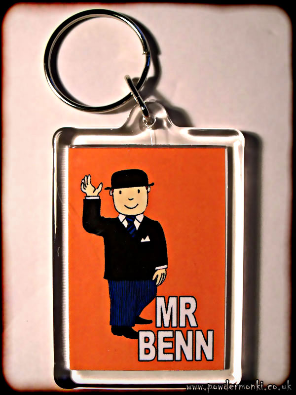 Mr Benn - Retro TV Keyring