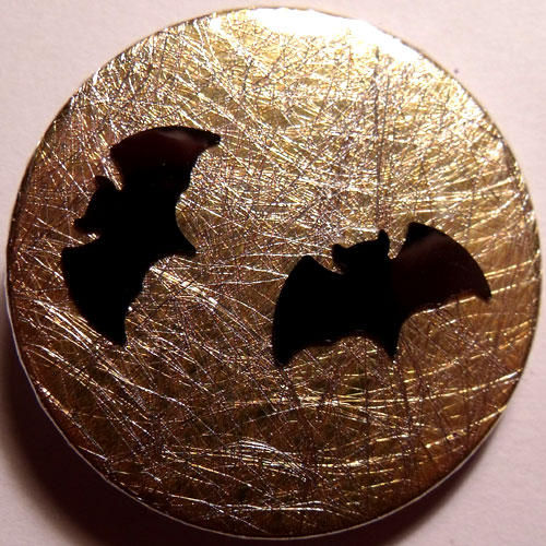 2 Bats Gold Badge