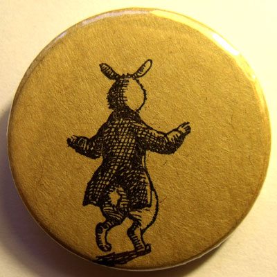 Alice In Wonderland Badge 03