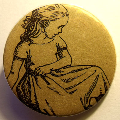 Alice In Wonderland Badge 18