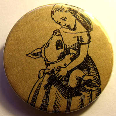 Alice In Wonderland Badge 22