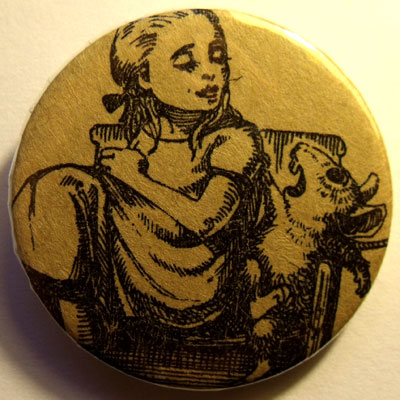 Alice In Wonderland Badge 26