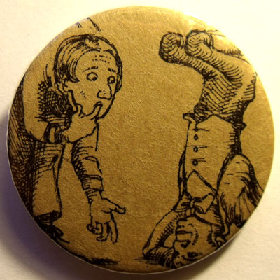 Alice In Wonderland Badge 31
